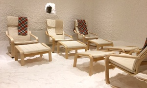Salt Space: Salt Therapy: One or Two Sessions for an Adult or Child at Salt Space (Up to 63% Off)