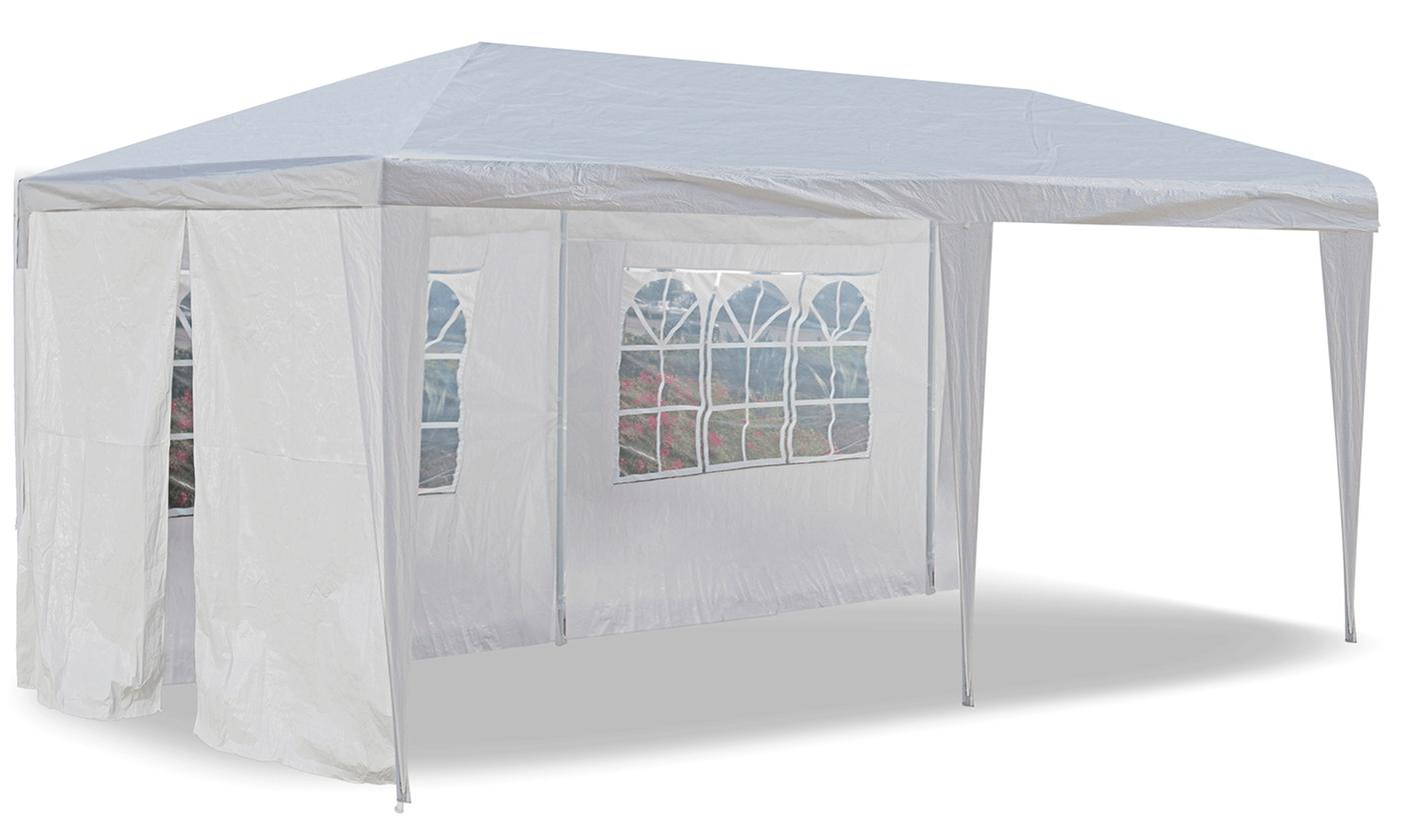 Outdoor Event and Party Tent with Enclosures (10'x20')