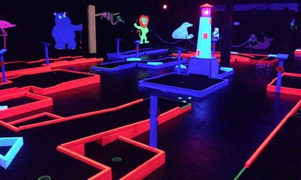 Mini Golf at Just Fun Family Entertainment Center (Up to 49% Off). Three Options Available.