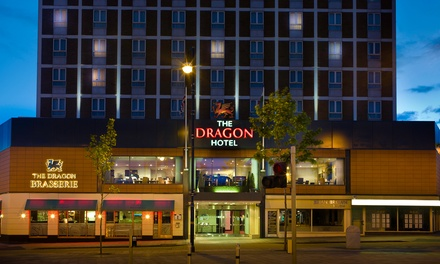 Swansea Stay with Breakfast, 25Minute Spa Treatment and Spa Access at 4* Dragon Hotel