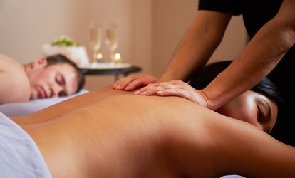 image for $101 for a 60-Minute <strong>Couples Massage</strong> at Tiki Image Modern Body Spa ($199.95 Value)