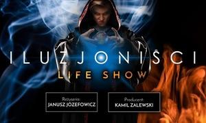 """Iluzjoniści: Od 79,99 zł: bilet na life show """"Iluzjoniści"""" z udziałem prawdziwych magików reż. J.Józefowicz"""
