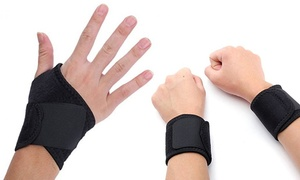 Compression Wrist-Support Braces (1 or 2 Pairs)
