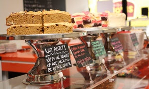 My Time: A Slice of Specialty Cake Plus a Choice of Coffee for Two or Four at My Time (Up to 56% Off)