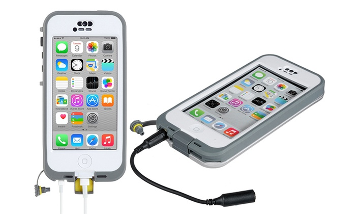 waterproof iphone 5c case lifeproof n 252 252 d iphone 5c groupon goods 16461