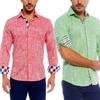 Suslo Couture Men's Slim-Fit Linen Shirts