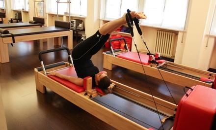 3 o 6 lezioni di pilates matwork