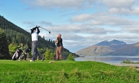 Full-Day Golf Pass with Snack for One or Two at Dragons Tooth Golf Course (Up to 62% Off)
