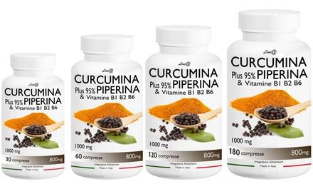 Curcumina e Piperina Lineadiet : 720 capsule