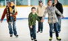 Arctic Edge Ice Arena - Northwest Oklahoma City: Ice Skating for 2 or 4, or 5-Week Skating- or Hockey-Lesson Package at Arctic Edge Ice Arena (Up to 52% Off)