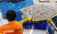 Full-Day Bouldering Session for One ($8) or Two People ($15) at Dynomite Indoor Climbing Gym (Up to $32 Value)