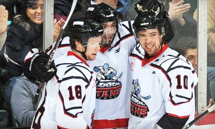 Trenton Titans - Chambersburg: $19 for Two Tickets to a Trenton Titans Game at Sun National Bank Center on March 24, 28, or 30 (Up to $44 Value)