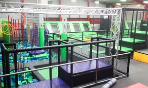 Jump Ninja: One-Hour Trampoline Jumping Session for Two or Three at Jump Ninja (Up to 33% Off)