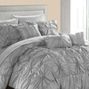 Mayfield Ruffled Pinch-Pleat Bed-In-a-Bag Set (8- or 10-Piece)