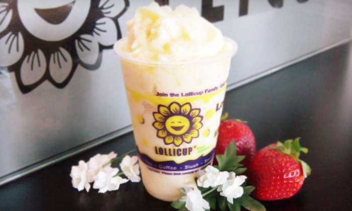 Lollicup - Hoover: $5 for $10 Worth of Bubble Tea, Smoothies, and Coffee at Lollicup
