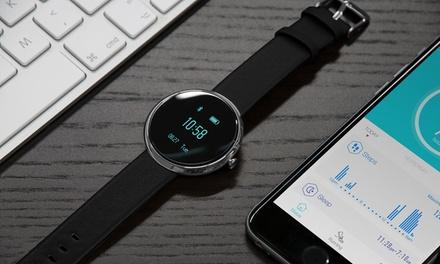 Montre connectée étanche SmartWatch Sinji avec capteur fréquence cardiaque et tracker dactivité (SaintEtienne)