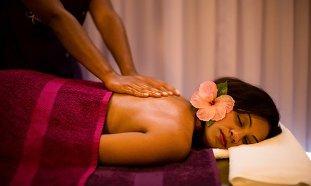 Fijian Bobo Massage and Foot Reflexology (From $45) with Optional Facial ($49) at Kalesi Spa (From $110 Value)
