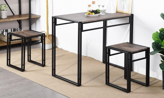 Hasta 44% dto. Set de comedor industrial | Groupon