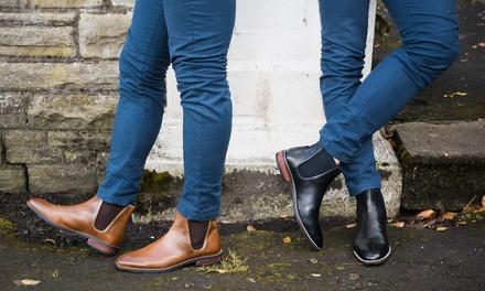 Boots Chelsea en cuir Redfoot