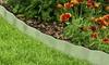 Galvanized Steel Lawn Edging Landscape, Plant, and Garden Border