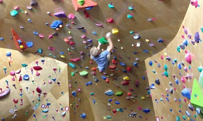 Pure Bouldering Gym - Ivywild: Day Pass and Shoe Rental for Two or Four or One-Month Membership and Lesson at Pure Bouldering Gym (Up to 54% Off)