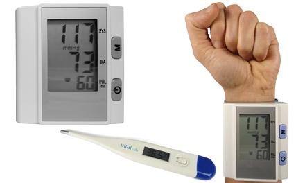 Jocca Wrist Blood Pressure with Optional Digital Thermometer