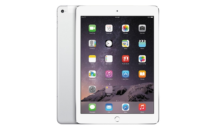 Refurbished Open Box Apple iPad Air 2 (WiFi Only): Refurbished Open Box Apple iPad Air 2 with MFi Certified Lightning Cable and Generic Power Adapter (WiFi Only)