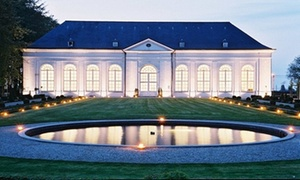 Kasteel van Seneffe : Koninklijk 3-gangenmenu voor 2 of 4 personen vanaf € 29,99 in de Orangerie van het Domein van het Kasteel van Seneffe