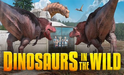 image for Half Term Dates available from the 26th, Dinosaurs in The Wild at Greenwich Peninsula, London (Up to 31% Off)