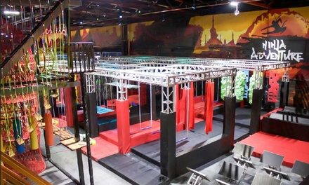 Full Access to Obstacle Courses for One, Two or Four at Ninja Adventure (50% Off)