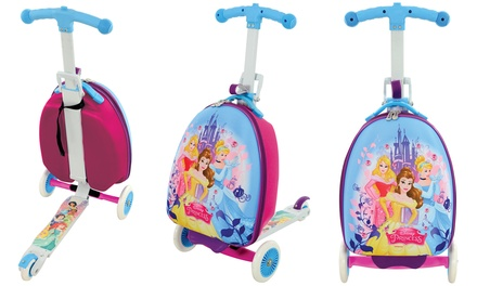 Disney Princess Scootin Suitcase With Free Delivery