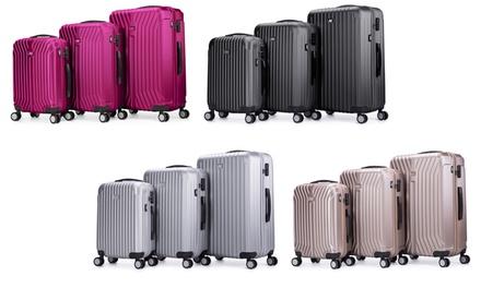Set 3 valises Air V en ABS ultra résistant