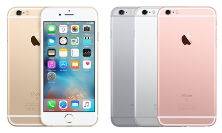 Apple iPhone 6s 32GBfor £7.99 on £27.99Month Contract, 5GB Transfer, Unlimited Texts and Minutes With Free Shipping