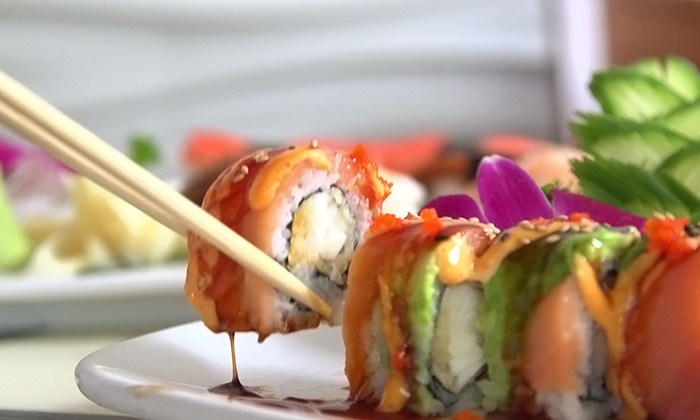 Feng Shui -Tyngsboro - Tyngsborough: $11 for $25 Worth of Sushi and Chinese Cuisine at Feng Shui - Tyngsboro