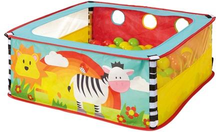 Piscina de bolas para niños Worlds Apart Zebra