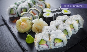 Gurin Sushi: Japońskie przysmaki: 39,99 zł za groupon wart 60 zł do wydania na całe menu i więcej opcji w Gurin Sushi (do -40%)