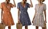 1 ou 2 robes courtes imprimées Charlotte