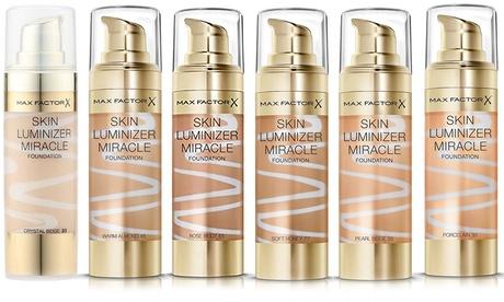 1 o 2 frascos de base de maquillaje iluminadoras Max Factor