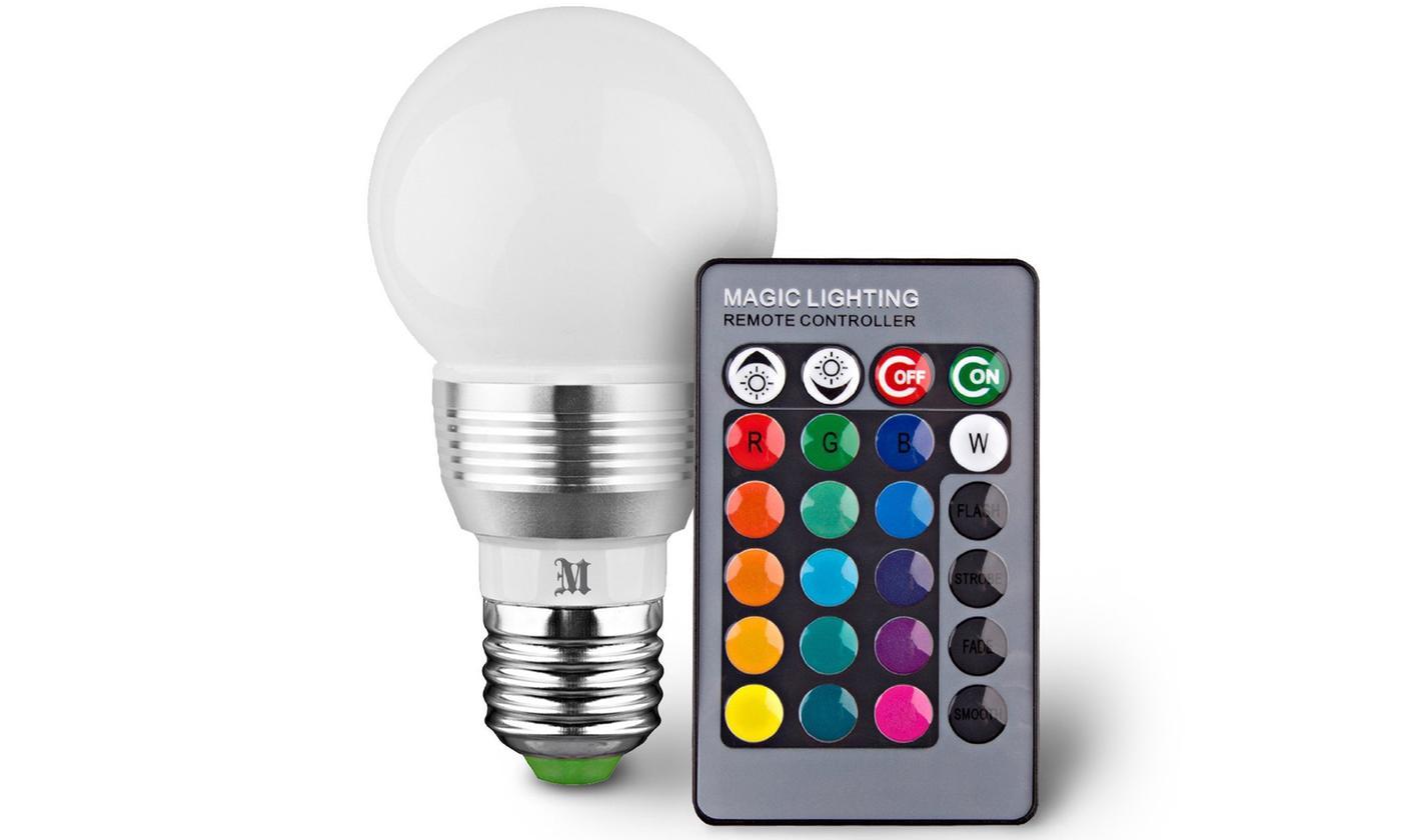 Massimo Retro LED Color Changing Light Bulbs