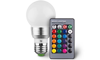 Massimo Retro LED Color Changing Light Bulbs (1-, 2-, or 4-Pack)