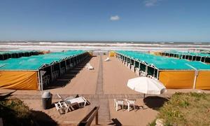 Balneario Piedra Marina: Desde $979 por 2 o 4 días de alquiler de carpa para seis en Balneario Piedra Marina, Mar del Plata