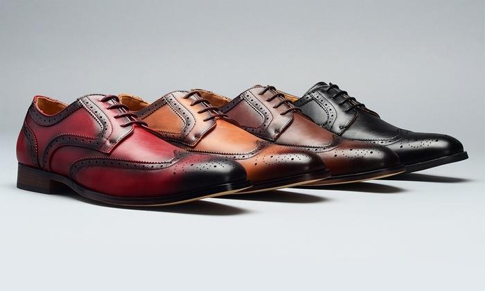 Cognac Dress Shoes Group On