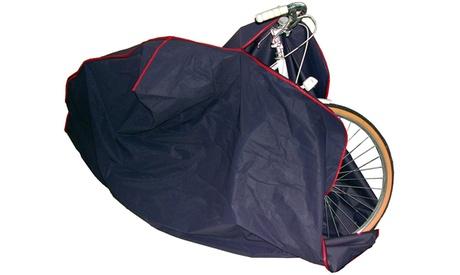 1 o 2 fundas de plástico para la bicicleta