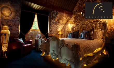 Crazy Bear Signature Hotel Break for Two with SevenCourse Signature Dinner, Champagne and Breakfast