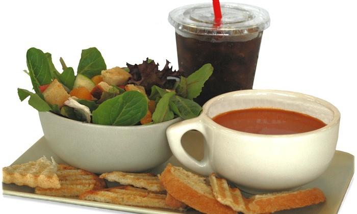 Farmshop Center - Fairview: One Soup, Salad and Drink at FARMSHOP CENTER (45% Off)