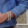 Elements of Love 52.00 CTTW Tennis Bracelet With Swarovski Crystals