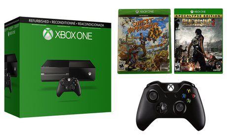 Xbox One 500GB Console Bundle (Manufacturer Refurbished)