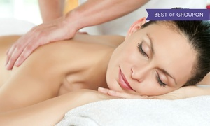 Chi Spa: Massage and Sauna Session, Reflexology and Footbath, or Couples Massage and Footbath at Chi Spa (Up to 44% Off)
