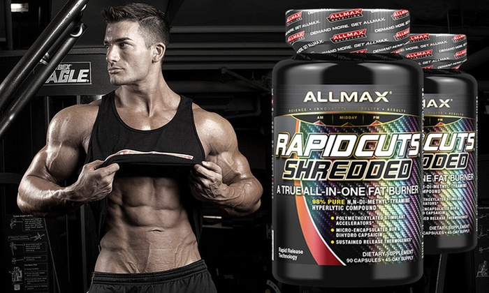 Rapidcuts Shredded Ultimate Weight Loss Supplement 90 Day Supply