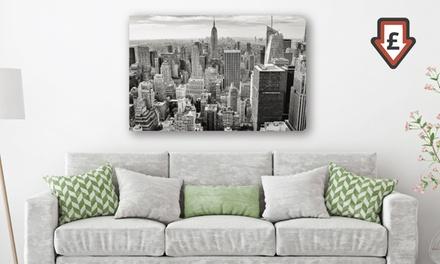 City Canvas Print in 15 Designs